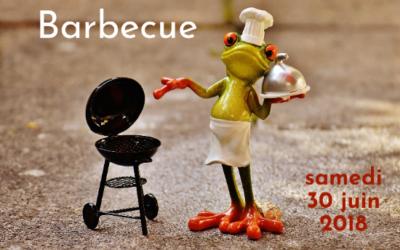 Barbecue annuel le samedi 30 juin 2018